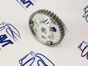 Шестерня разрезная ГРМ 8V (алюм. ступица)  с маркерным диском