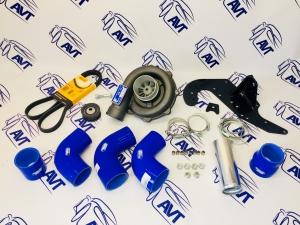 Комплект с нагнетателем PK 23-1 для автомобилей ВАЗ 2101-07, 21213-214 (БЕЗ ГУРа) с инжекторным двигателем