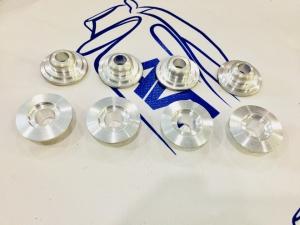 Тарелки клапанов 2101 (алюминий Д16Т)