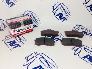 Колодки тормозные передние 2108 NIPPON